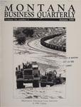 Montana Business Quarterly, Fall 1986