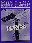 Montana Business Quarterly, Winter 1986