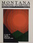 Montana Business Quarterly, Summer 1987