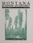 Montana Business Quarterly, Winter 1987