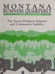 Montana Business Quarterly, Summer 1988