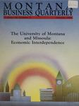 Montana Business Quarterly, Fall 1988