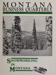 Montana Business Quarterly, Winter 1988