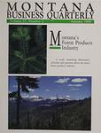 Montana Business Quarterly, Fall 1989