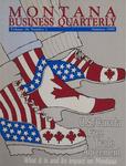 Montana Business Quarterly, Summer 1990