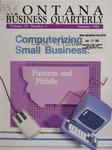 Montana Business Quarterly, Fall 1991