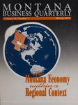 Montana Business Quarterly, Spring 1992