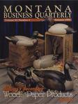 Montana Business Quarterly, Summer 1992