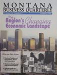 Montana Business Quarterly, Fall 1992
