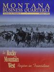 Montana Business Quarterly, Winter 1992