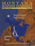 Montana Business Quarterly, Spring 1993