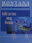 Montana Business Quarterly, Summer 1993