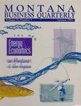 Montana Business Quarterly, Fall 1993