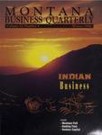 Montana Business Quarterly, Winter 1993