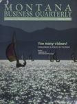 Montana Business Quarterly, Spring 1994