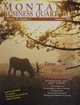 Montana Business Quarterly, Summer 1995