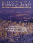 Montana Business Quarterly, Fall 1995