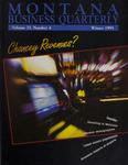 Montana Business Quarterly, Winter 1995