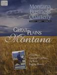 Montana Business Quarterly, Fall 1996