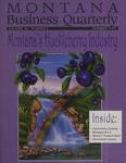 Montana Business Quarterly, Summer 1997