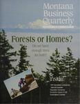 Montana Business Quarterly, Winter 1997