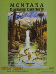 Montana Business Quarterly, Winter 1999