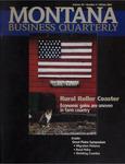 Montana Business Quarterly, Winter 2001