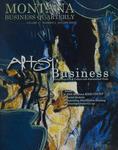 Montana Business Quarterly, Fall 2003