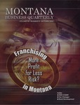 Montana Business Quarterly, Fall 2004