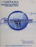 Montana Business Quarterly, Fall 2006