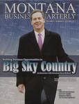 Montana Business Quarterly, Fall 2013