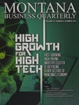 Montana Business Quarterly, Summer 2015 by University of Montana (Missoula, Mont.: 1965-1994). Bureau of Business and Economic Research