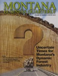 Montana Business Quarterly, Winter 2015 by University of Montana (Missoula, Mont.: 1965-1994). Bureau of Business and Economic Research