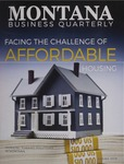 Montana Business Quarterly, Spring 2019