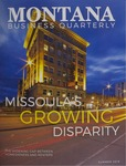 Montana Business Quarterly, Summer 2019 by University of Montana (Missoula, Mont.: 1965-1994). Bureau of Business and Economic Research