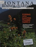 Montana Business Quarterly, Fall 1994
