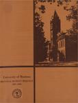 Biennial Budget Request, 1967-1969