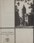 Biennial Budget Request, 1969-1971