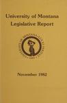 Legislative Report, November 1982