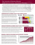 Institutional Assessment Report, 2010 by University of Montana--Missoula. Office of the Provost