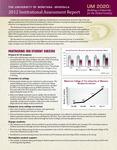 Institutional Assessment Report, 2012