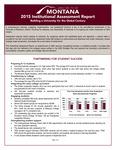 Institutional Assessment Report, 2015