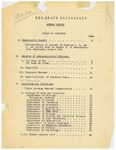 University of Montana Report of the President 1919-1920