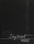 The Sentinel II: Imprint, Volume 2, 1988 by University of Montana (Missoula, Mont. : 1965-1994). Associated Students