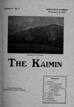 The Kaimin, December 15, 1902 by Students of the University of Montana