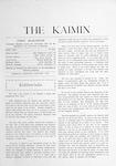 The Kaimin, January 1903