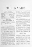 The Kaimin, February 1903 by Students of the University of Montana