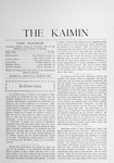 The Kaimin, March 1903 by Students of the University of Montana