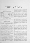 The Kaimin, June 1903 by Students of the University of Montana