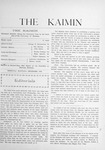 The Kaimin, December 1903 by Students of the University of Montana